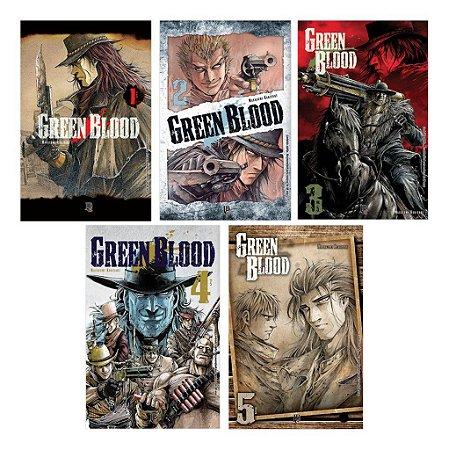 Coleção Green Blood Vol.01 ao 05