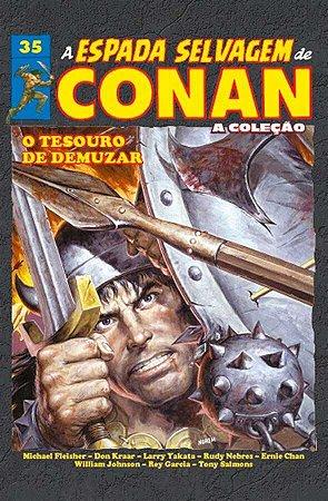 A Espada Selvagem de Conan Vol.35