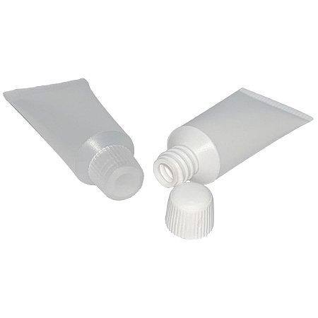 Bisnaga Plástica para Amostra Grátis 5 ml kit 10 unid
