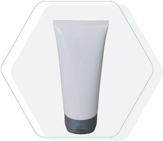 Bisnaga Plastica 150 ml tampa flip top Corpo Transparente (10 unid.)
