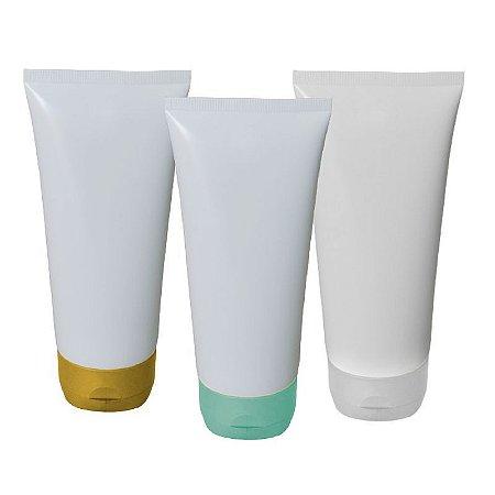 Bisnaga Plastica 200 ml tampa flip top kit com 10 unid
