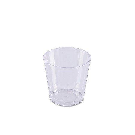 Copinho de acrilico para doce de festa 25 ml pct com 10 unid