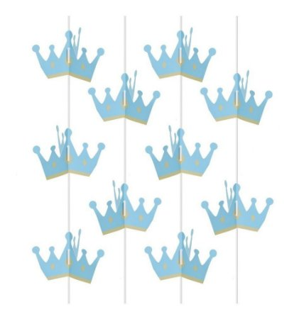 Cortina de decoração para Festa de Príncipe