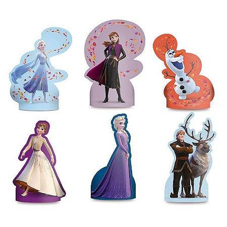 Decoração de Mesa Frozen 2 - kit com 6 unid