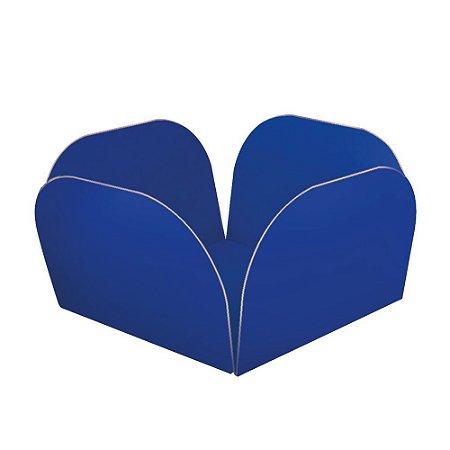 Embalagens para Doces Descartáveis Médio Azul Escuro Pct com 50 unid