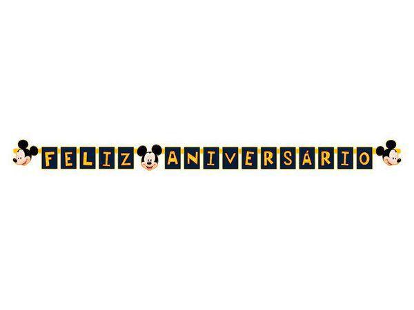 Faixa de Feliz Aniversário do Mickey