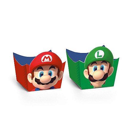Forminha para Doces tema Super Mario com 24 unid