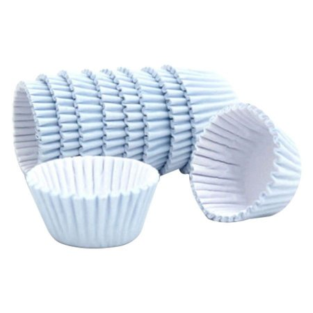 Forminhas para Doces de Papel N6 Azul Bebê pct 100 unid