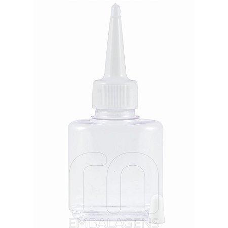 Frasco para Reparador de Pontas 30 ml com bico aplicador kit com 10 unid