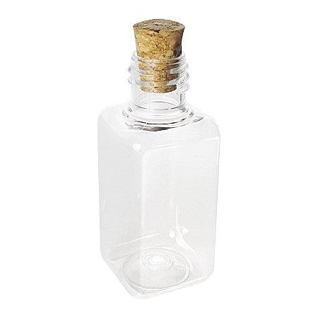 Garrafinhas para Lembrancinhas 40 ml Plástica com Rolha kit com 10 unid