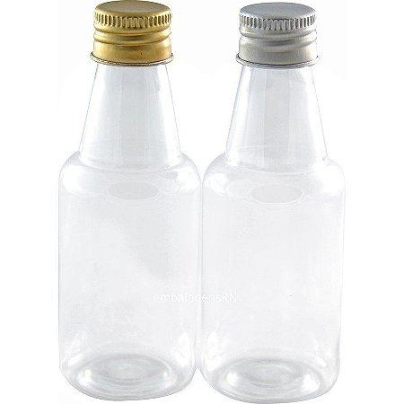 Garrafinhas para Lembrancinhas 50 ml Tampa Metal (10 unid.)
