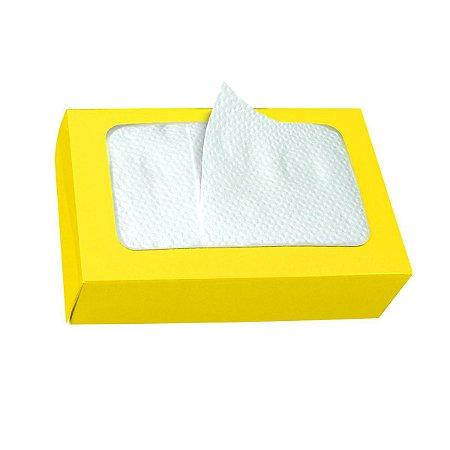 Guardanapo de Papel Descartável BOXPAK Amarelo