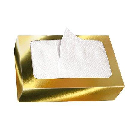 Guardanapo de Papel Descartável BOXPAK Luxo Dourado