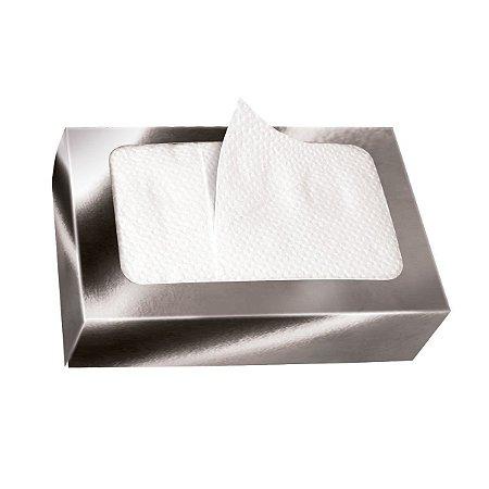 Guardanapo de Papel Descartável BOXPAK Luxo Prata