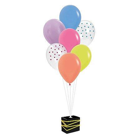 Kit de Balões para Decoração de Festa Neon