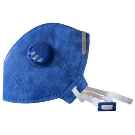 Mascara descartável com Respirador de carvão ativado PFF2