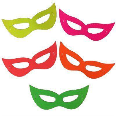 Mascara Gatinho para festa pacote com 8 unid