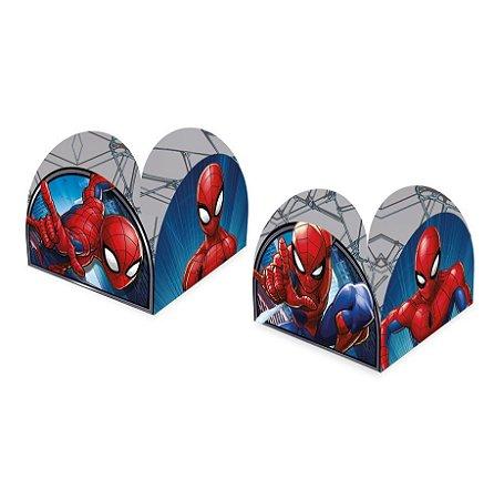 Porta forma de Brigadeiro do Homem Aranha kit com 50 unid