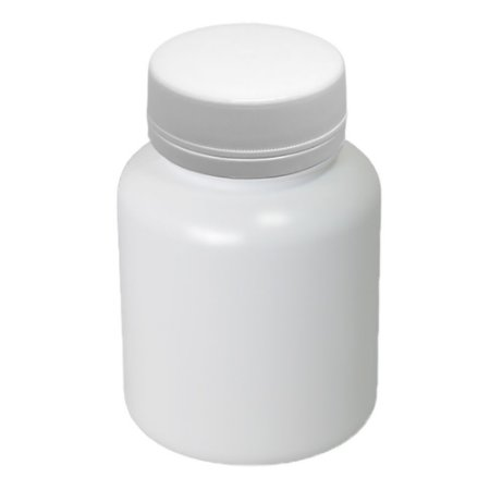 Pote Plástico para cápsula 180 ml Rosca Lacre kit com 10 unid