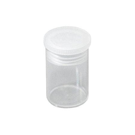 Potinho de Acrílico Cristal 7 ml kit com 10 unid