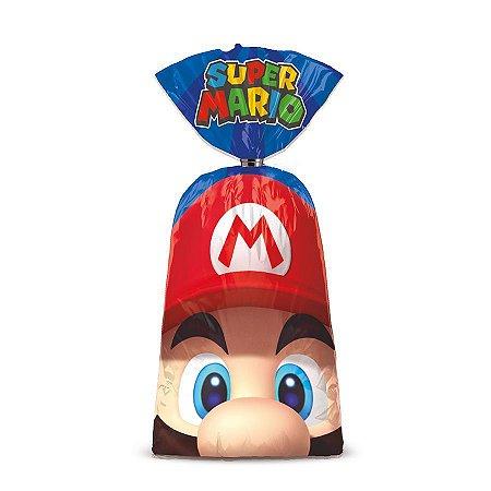 Sacola Surpresa para Lembrancinhas do Super Mario com 8 unid