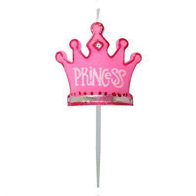 Vela para Aniversário de Princesa