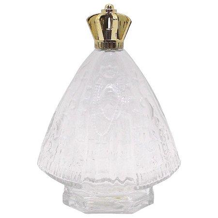Vidro para Água Benta Nossa Senhora 80 ml com tampa