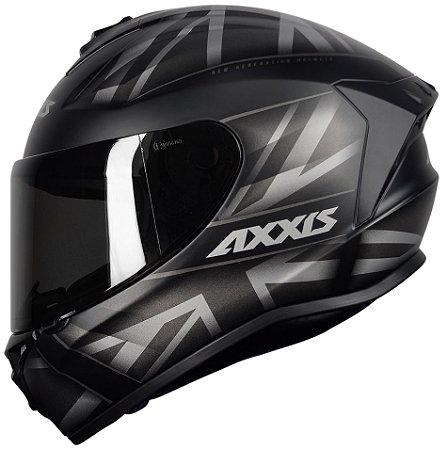 AXXIS DRAKEN UK MATT BLACK/GREY
