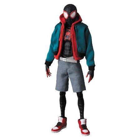 Spider-Man Miles Morales Mafex (Spiderverse)