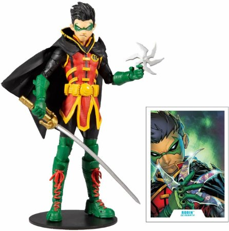 Robin Damian Wayne McFarlane Toys