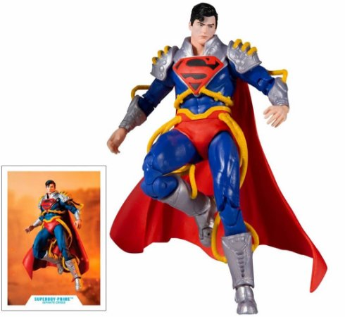 EM BREVE -  Superboy Prime McFarlane Toys (Infinite Crisis)