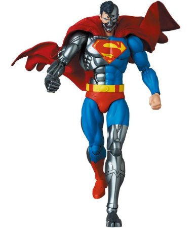 EM BREVE - Cyborg Superman Mafex