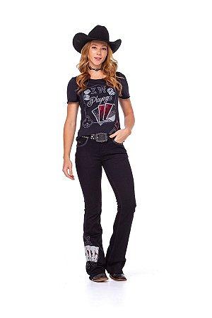 Camiseta Zenz Western Feminina Billions ZW0221008