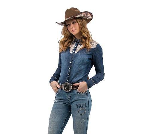 Camisa Zenz Western Feminina Maria ZW0421017