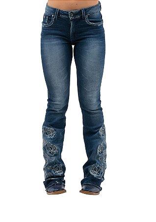 Calça Jeans Zenz Western Mexicano ZW0421004