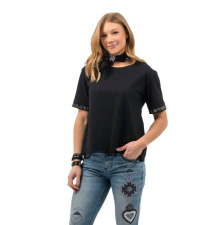 Camiseta Zenz Western Feminina Assencion ZW0421040