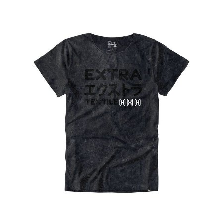 Camiseta Txc Masculina Preta 1106