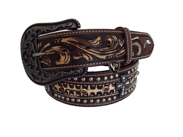 Cinto Masculino Arizona Belts Marrom Cruz