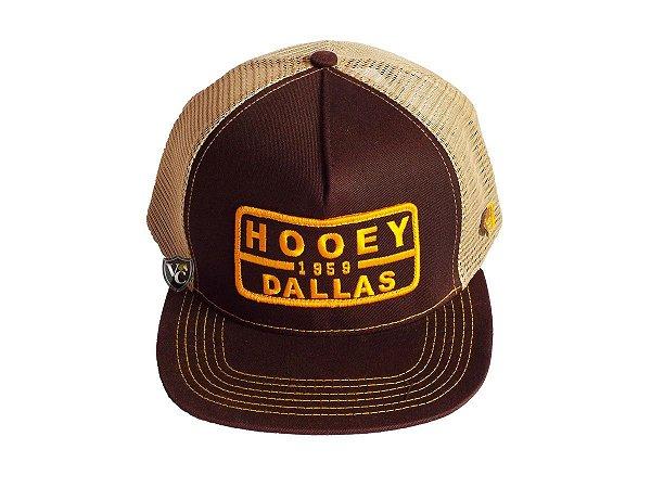 Boné Hooey Importado Marrom Dallas - Vitrine do Cowboy - A Loja ... 6063a0cdac8