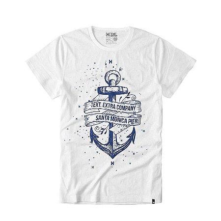 Camiseta Txc Brand Masculina Branca 1115