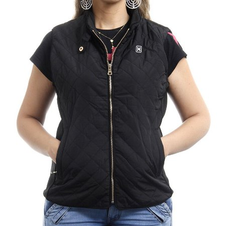 Colete TXC Brand Feminino Preto 5014F - Vitrine do Cowboy - A Loja ... 90d64a4e36a