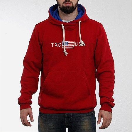 Moleton TXC Brand Vermelho 3050