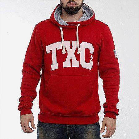 Moleton Txc Brand Vermelho 3057