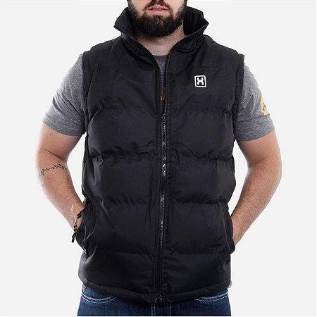 Colete Txc Brand Masculino Preto Branco 5012