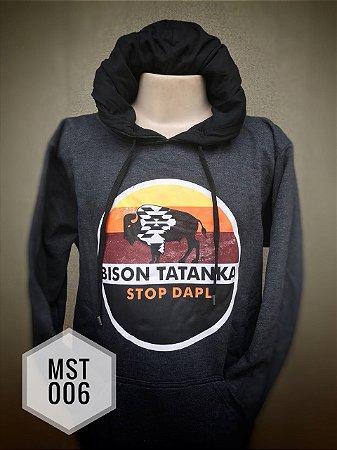 Moletom Tatanka Chumbo Bison MST006