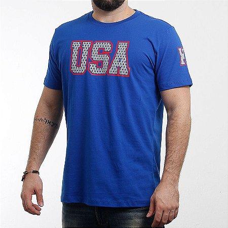 Camiseta Txc Brand Masculina Royal 1200