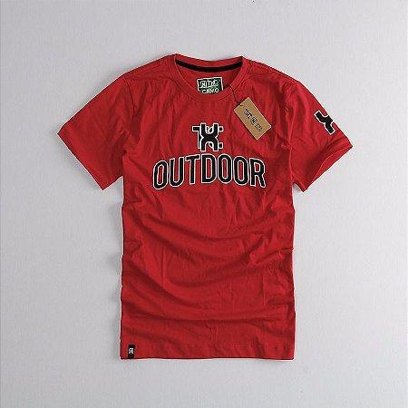 Camiseta Txc Brand Masculina Vermelho 1203