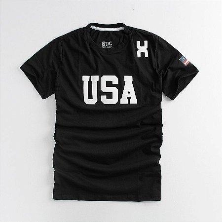 Camiseta TXC Brand Masculina Preta 1210
