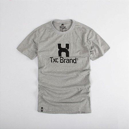 Camiseta TXC Brand Masculina Mescla Med 1218