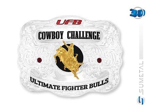 Fivela Ufb Cowboy Challenge Sumetal 9267F